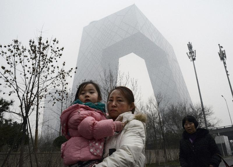 Some schools in Beijing were closed because of the dangerous levels of air pollution (AFP Photo/Goh Chai Hin)