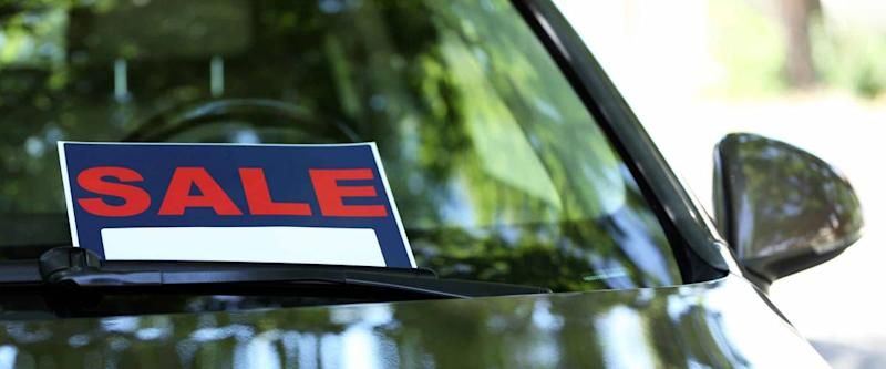 Without a car title proving ownership, the car can't be sold or traded in