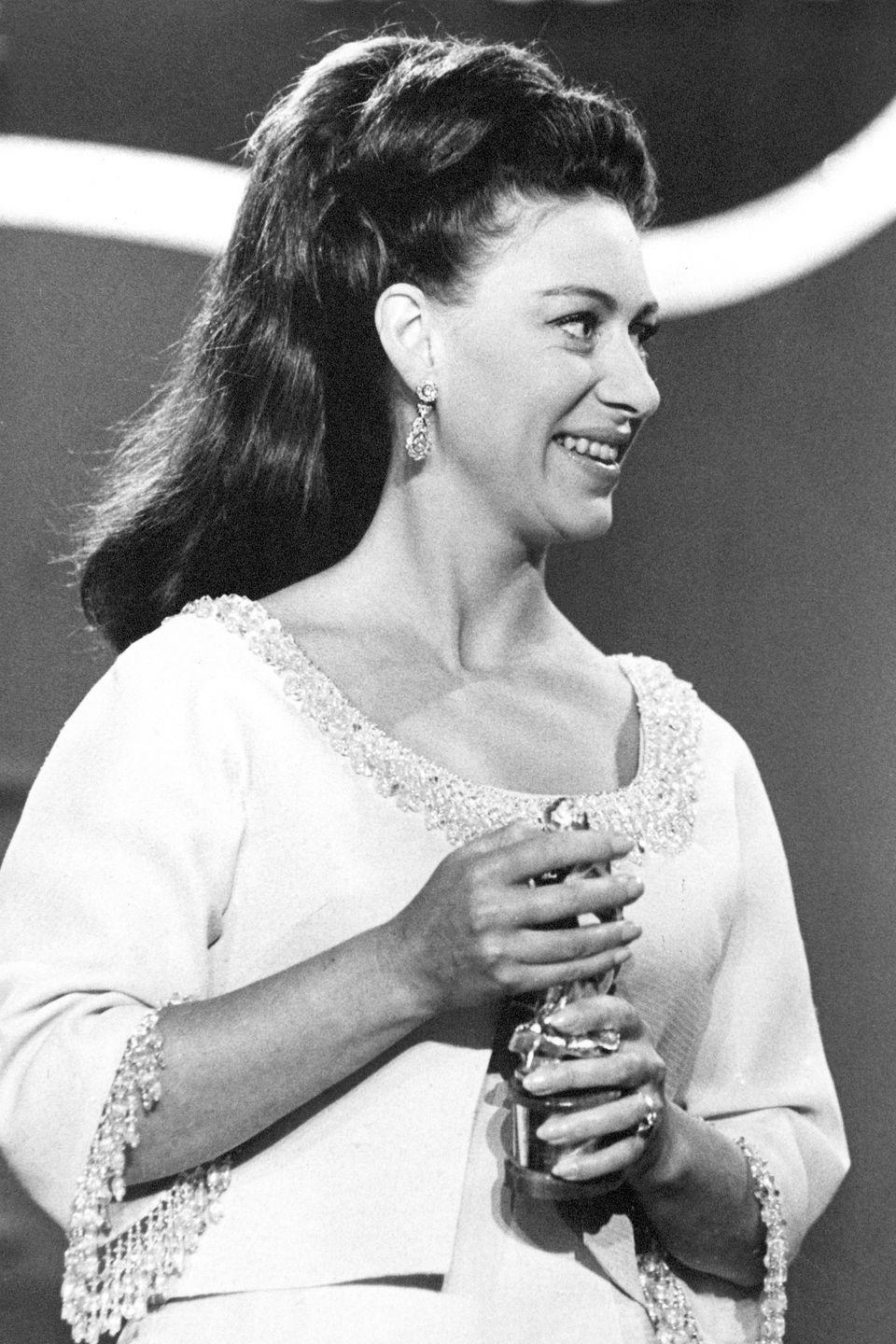 <p>HRH presented a Tony Award at the Mark Hellinger Theatre in New York city in 1969.</p>