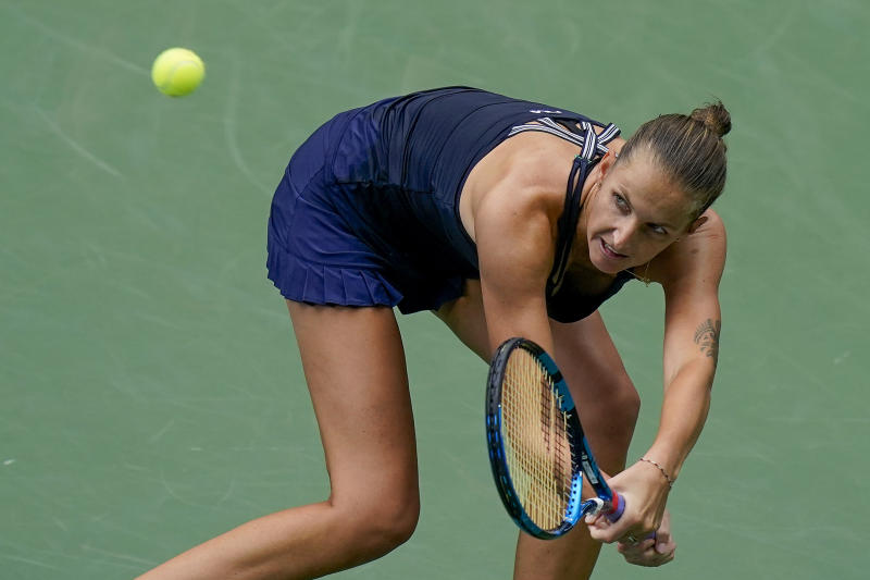 Karolina Pliskova is still seeking her first Grand Slam title. (AP Photo/Seth Wenig)