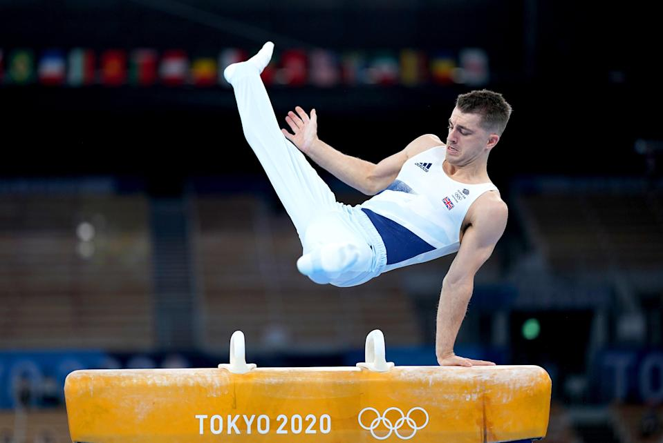 Max Whitlock pulled off a difficult routine (Mike Egerton/PA) (PA Wire)