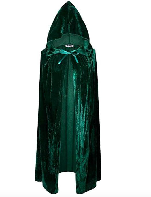 <p>Every good witch needs a cloak, and this green <span>VGLOOK Kids Hooded Cloak Cape</span> ($13-$17) is perfect for a Winifred Sanderson look. </p>