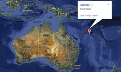 Sandy Island In South Pacific 'Does Not Exist'