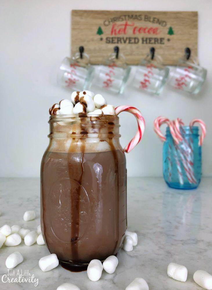 """<p>Whether you serve them at a party, dish them up to your kids on Christmas Eve or hand them out to carolers, these Mason jars full of homemade hot chocolate are sure to be the hit of the holiday season.</p><p><strong>Get the tutorial at <a href=""""https://www.justalittlecreativity.com/2018/11/moms-hot-chocolate-recipe.html"""" rel=""""nofollow noopener"""" target=""""_blank"""" data-ylk=""""slk:Just a Little Creativity"""" class=""""link rapid-noclick-resp"""">Just a Little Creativity</a>.</strong></p><p><a class=""""link rapid-noclick-resp"""" href=""""https://www.amazon.com/Carnation-Instant-22-75-Powdered-Stable/dp/B082LYGPJ9/ref=zg_bs_16317451_7?tag=syn-yahoo-20&ascsubtag=%5Bartid%7C10050.g.2132%5Bsrc%7Cyahoo-us"""" rel=""""nofollow noopener"""" target=""""_blank"""" data-ylk=""""slk:SHOP POWDERED MILK"""">SHOP POWDERED MILK</a><br></p>"""