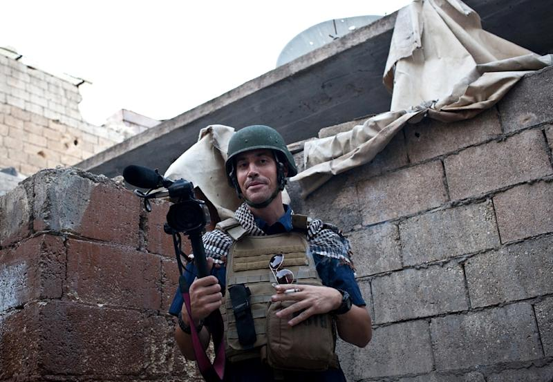 American freelance journalist James Foley, seen here in a 2012 file photo, was kidnapped in Syria and murdered by the Islamic State group