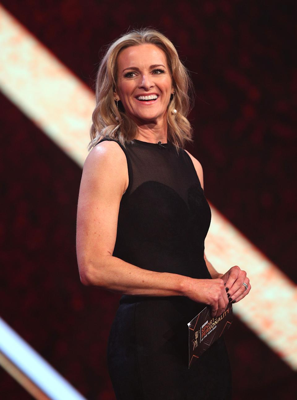 Gabby Logan says she didn't anticipate the impact of the menopause. (PA Images)