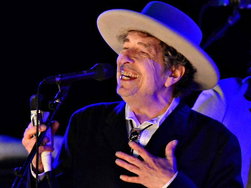 Bob Dylan says being given the news about his Nobel Prize left him 'speechless': Ki Price/Reuters