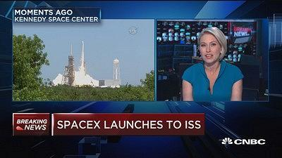 CNBC's Morgan Brennan reports on the twelfth SpaceX mission to the International Space Station.