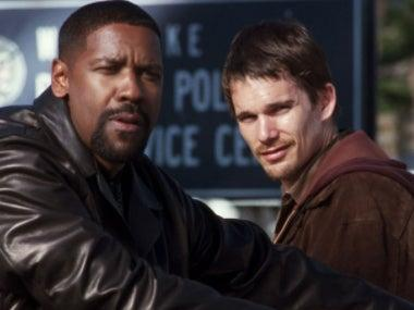 Denzel Washington and Ethan Hawke in 'Training Day'Warner Bros Pictures