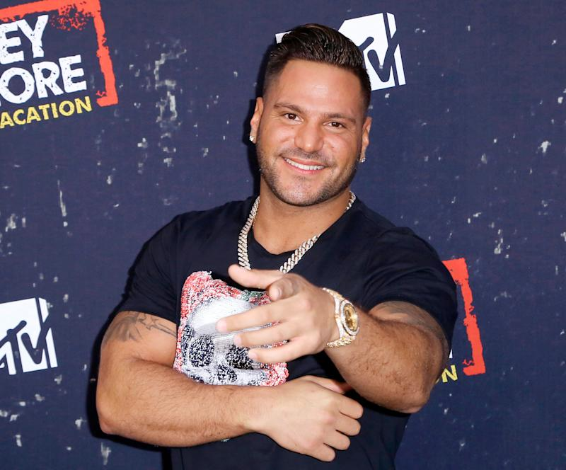 Ronnie Ortiz-Magro says he was attacked at a Las Vegas club on New Year's Eve.