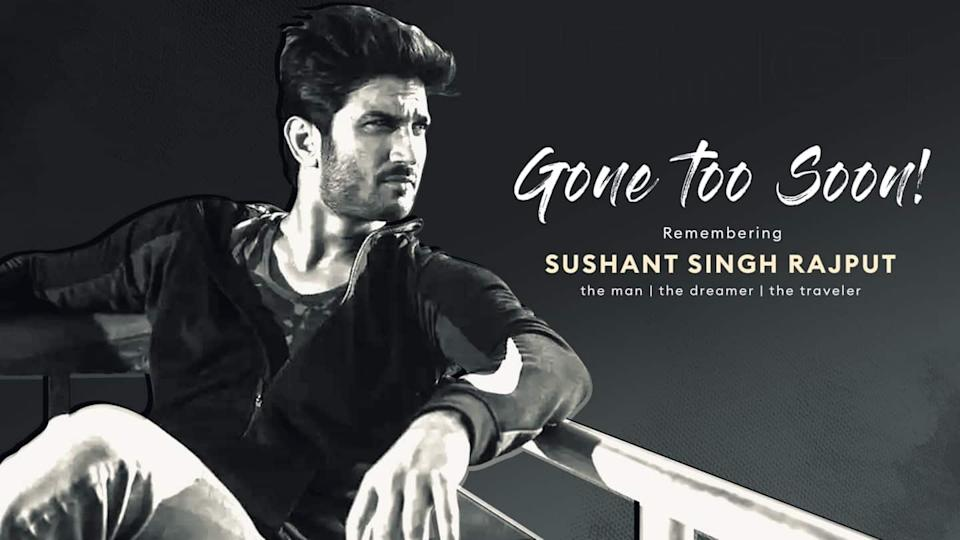 Tribute to Sushant: One year of losing and missing him