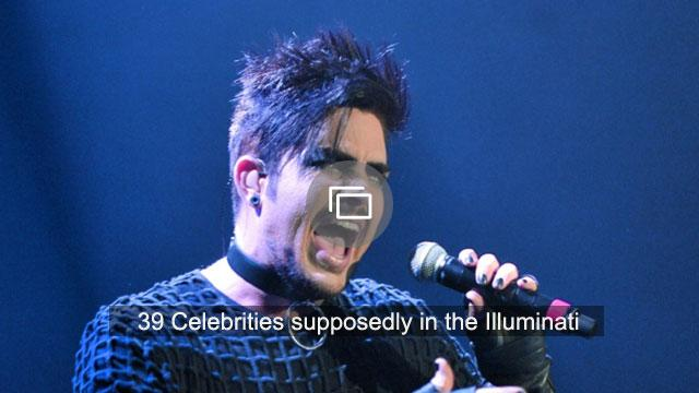 39 Celebrities supposedly in the Illuminati