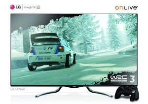 LG and OnLive to Show the Power of Integrated, On-Demand Cloud Gaming at CES