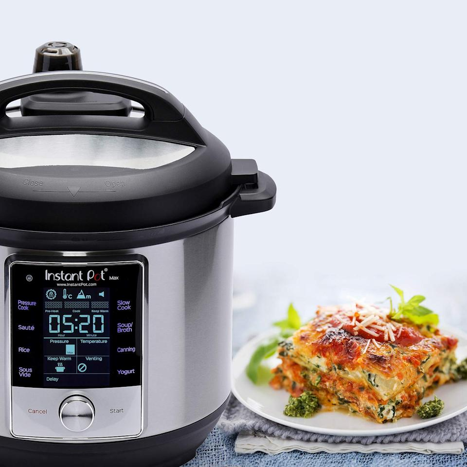 Save $50 on the Instant Pot Max. (Photo: Amazon)