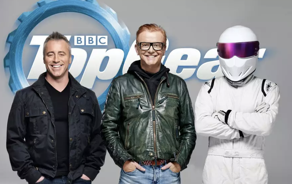 Le Blanc, Evans and The Stig