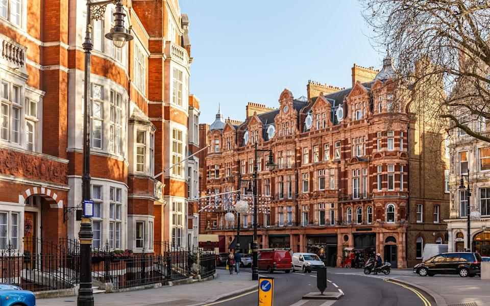 Mayfair, where the boutique investment banks offer a more gracious neighbourhood to its partners - Getty
