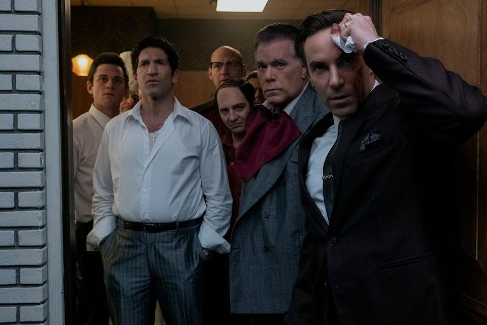 The cast of Sopranos prequel The Many Saints of Newark (Barry Wetcher)