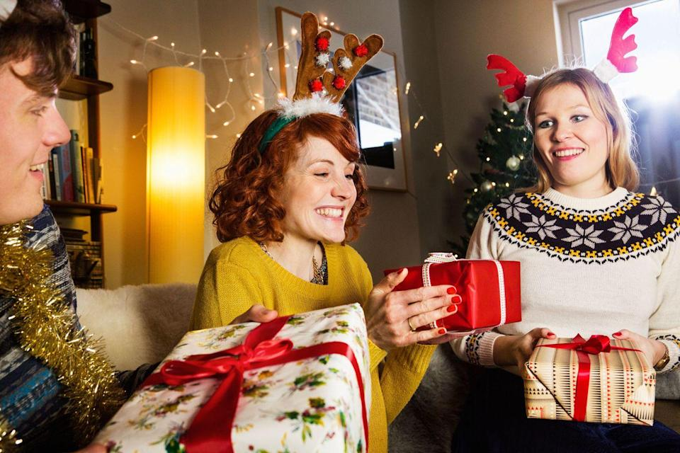 <p>Perhaps the most popular of all Christmas party games, White Elephant keeps the gift exchange exciting by allowing for swaps.</p>
