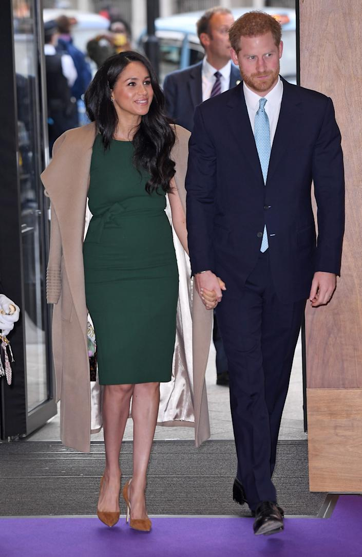 Meghan Markle and Prince Harry (Photo: James Veysey/Shutterstock)