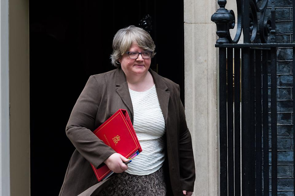 "Work and pensions secretary Therese Coffey has said jobcentres will start ""fully reopening"" from July and rejected calls to extend the ban of sanctions. (Photo: Barcroft Media via Getty Images)"