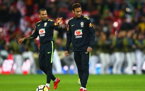 neymar and alves - Credit: GETTY IMAGES