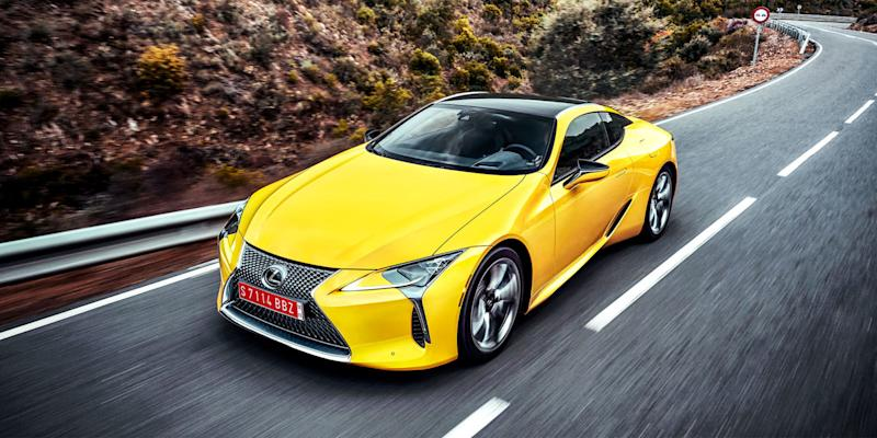 First drive 2018 lexus lc 500 for Abc motor credit gilchrist rd