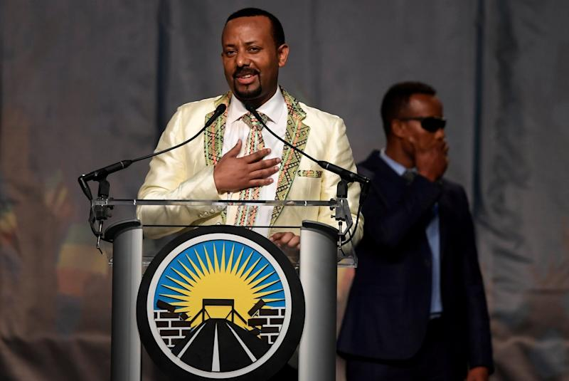 Ethiopia's Prime Minister Abiy Ahmed has created a new Ministry of Peace and handed half the posts in his cabinet to women: REUTERS