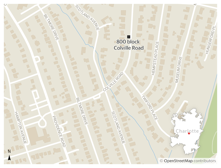 Two men died Sunday, Aug. 1, 2021, in the 800 block of Colville Road in a wreck Charlotte-Mecklenburg police say could have been caused by excessive speed and impairment.