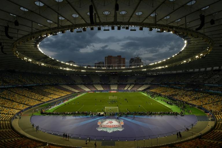 Kiev's Olympic Stadium will host the match