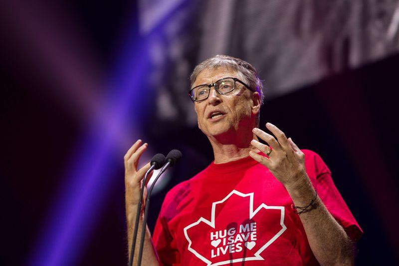 Billionaire philanthropist Bill Gates speaks at the Global Citizen Concert to End AIDS, Tuberculosis and Malaria in Montreal, Quebec, Canada September 17, 2016. REUTERS/Geoff Robins/POOL