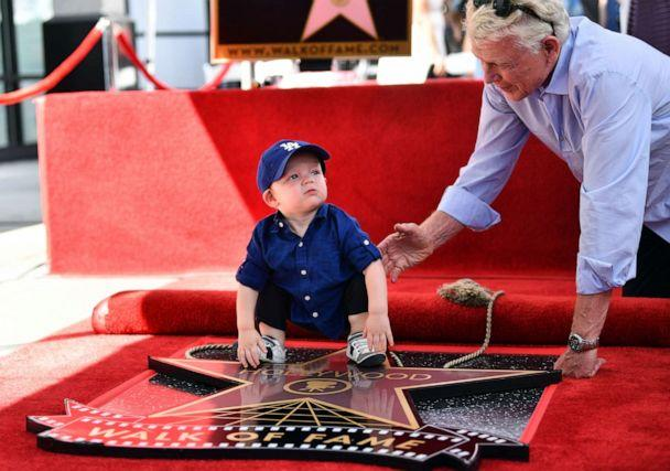 PHOTO: Kirsten Dunst's son, Ennis Howard Plemons, attends the ceremony honoring his mother with a star on the Hollywood Walk of Fame on Aug. 29, 2019 in Hollywood, Calif. (Emma Mcintyre/Getty Images)