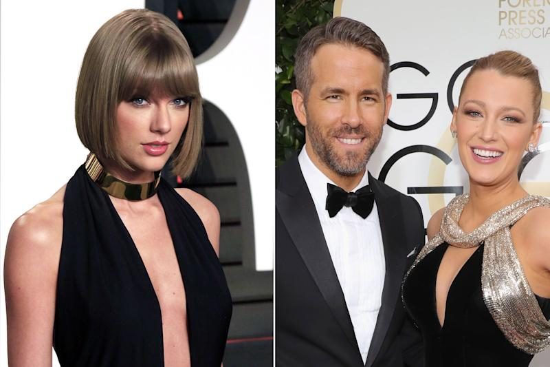 Taylor Swift Confirms Baby Voice on 'Gorgeous' Is Ryan Reynolds & Blake Lively's Daughter James