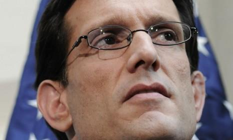 Eric Cantor is leading GOP opposition to a bipartisan bill that would extend tax cuts for 99 percent of Americans