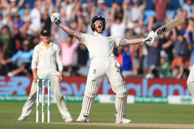 Ben Stokes features as part of a six-person shortlist for the award, which will be handed out next month: PA