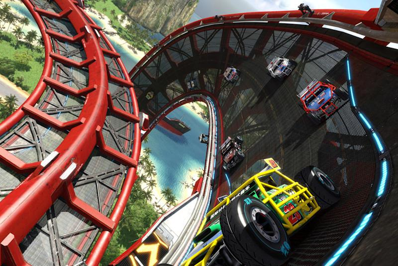 Wanna hurl? 'Trackmania Turbo' gets a virtual reality update
