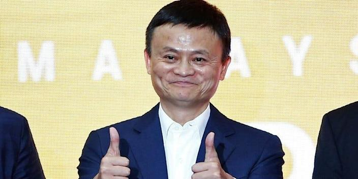Jack Ma, founder of Chinese e-commerce giant Alibaba, gestures during the launch of Alibaba's office in Kuala Lumpur, Malaysia June 18, 2018. REUTERS/Lai Seng Sin/File Photo