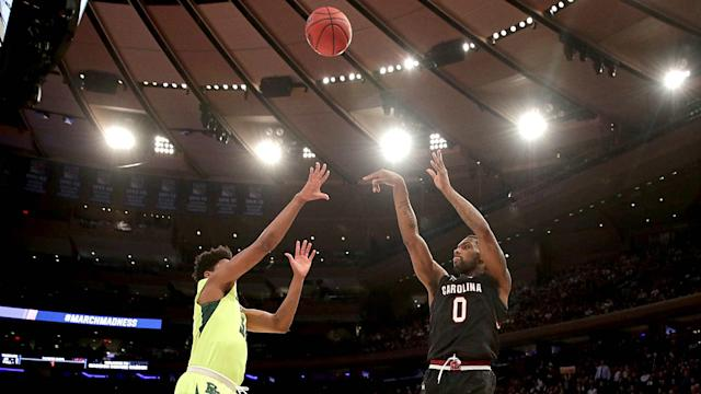 In South Carolina's eight previous NCAA Tournament appearances, the Gamecocks won a total of four games. They've won three this year.