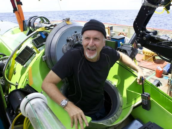 James Cameron Gives Deep Sea Sub to Science
