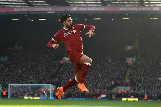 Juventus bound Emre Can scored three league goals for Liverpool last season, including one against West Ham at Anfield in February