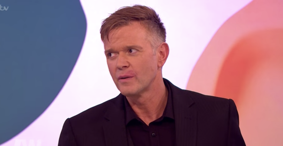 Darren Day has split from his wife of 12 years Steph Dooley (Photo: ITV)