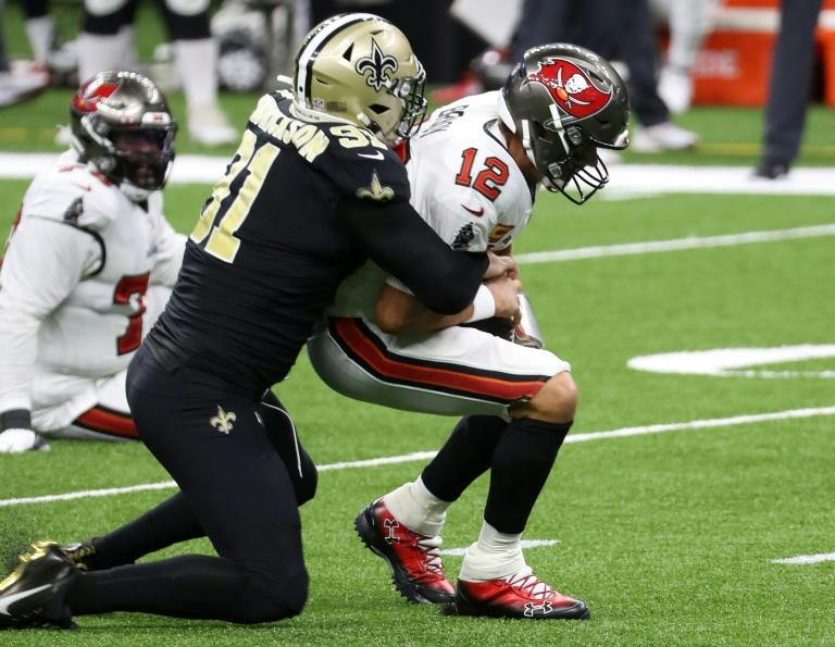 Rocky start for Brady as Saints down Bucs