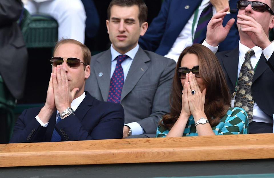 <p>2014 was an emotional year for Will and Kate.</p>