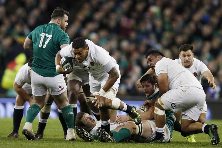 Battu par l'Irlande, le XV de la Rose n'efface pas le record des All Blacks