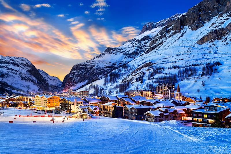 French ski areas like the Val d'Isère and Tignes offer huge amounts of terrain - ventdusud