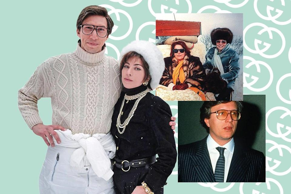 A new film tells the shocking true story of the Gucci family (Instagram @ladygaga / AP)