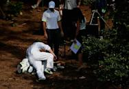 US Masters-Augusta-Caddy