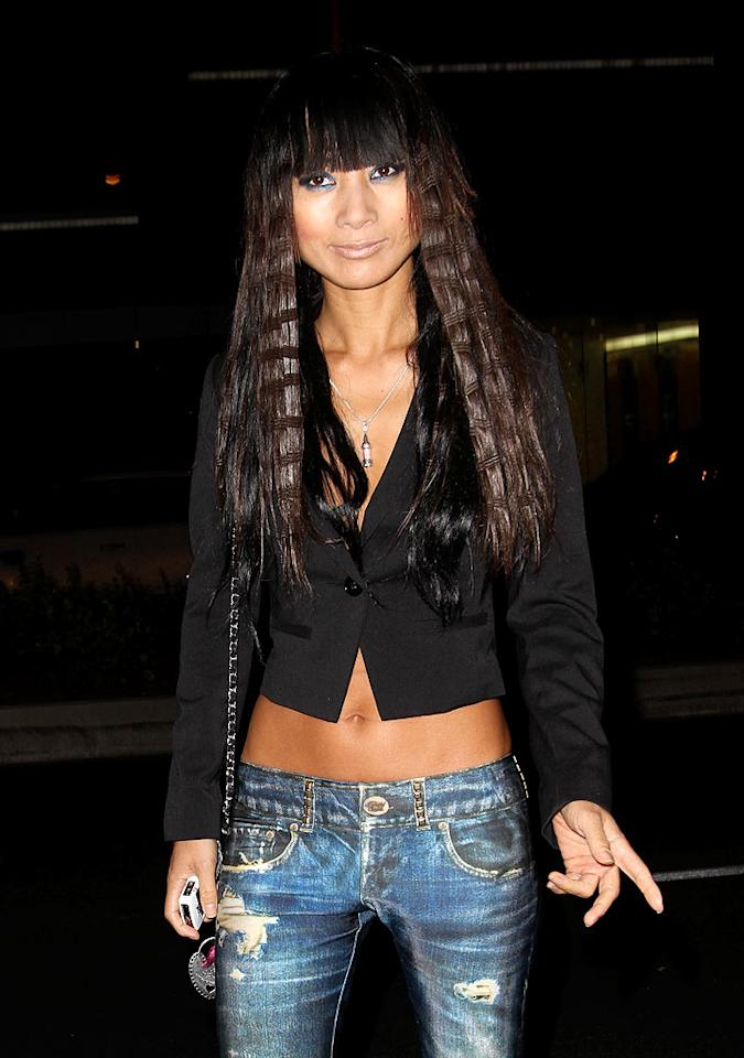 "Looks like D-lister Bai Ling got herself a new 'do, and by ""new 'do"" we mean used hair extensions she likely found in a dumpster behind a salon. Epa/<a href=""http://www.x17online.com"" target=""new"">X17 Online</a> - August 24, 2010"