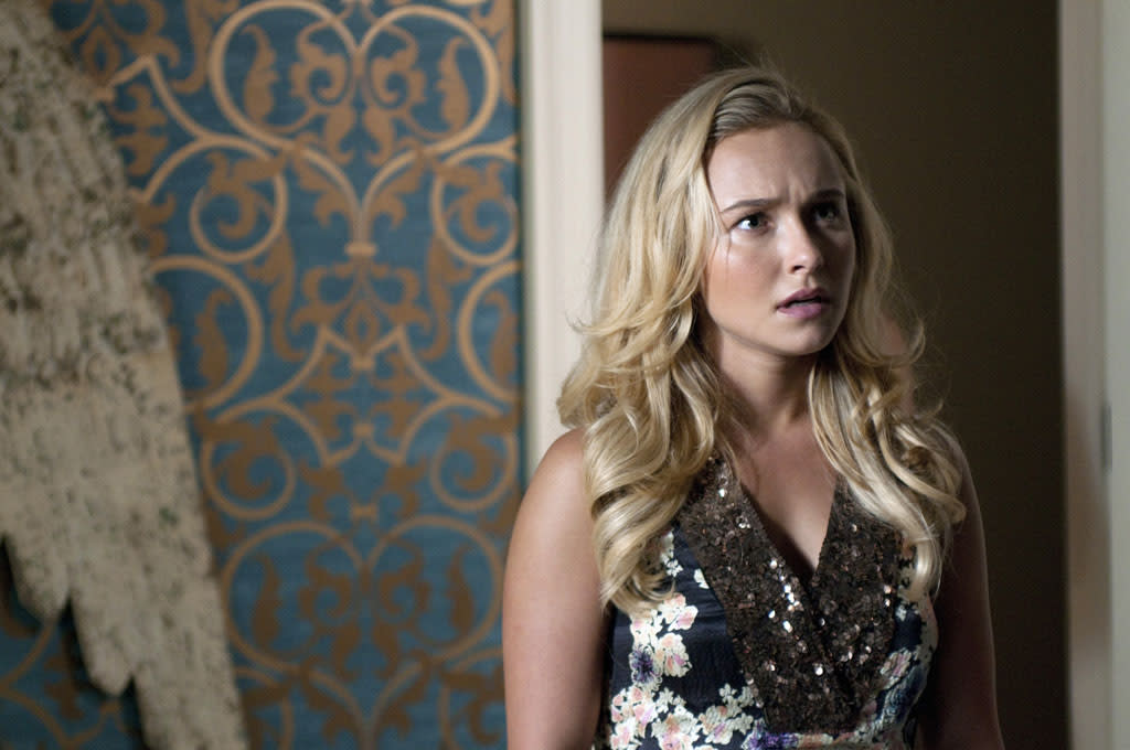 "Hayden Panettiere in the ""Nashville"" episode, ""We Live in Two Different Worlds."""