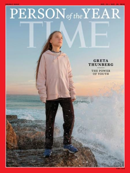 Time cover features Swedish teen activist Greta Thunberg named the magazine's Person of the Year for 2019