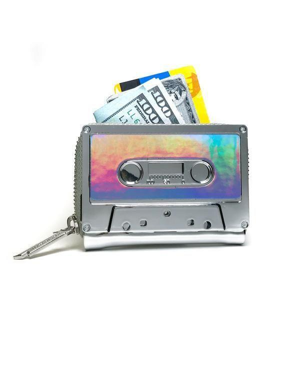 Image by Shutterstock Cassette And Music Notes Tee Men/'s